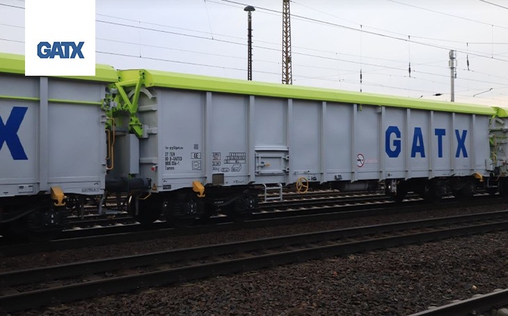 The GATX new wagons with lime green are aimed at their clients