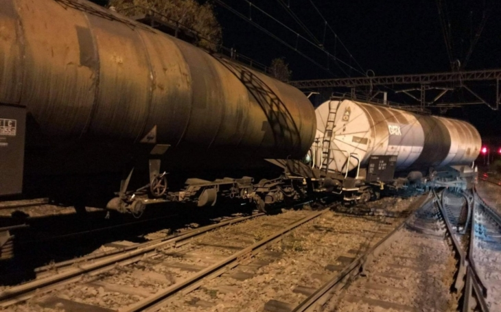 Currently: Derailment of freight cars in Poland
