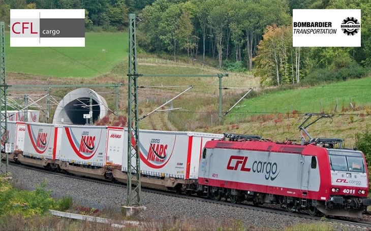 CFL Cargo and Bombardier Transportation have signed an agreement to supply ten Traxx MS locomotives