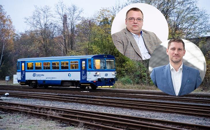 České dráhy (Czech Railways) are changing its director, the timid Nebeský will be replaced by brave Bednárik
