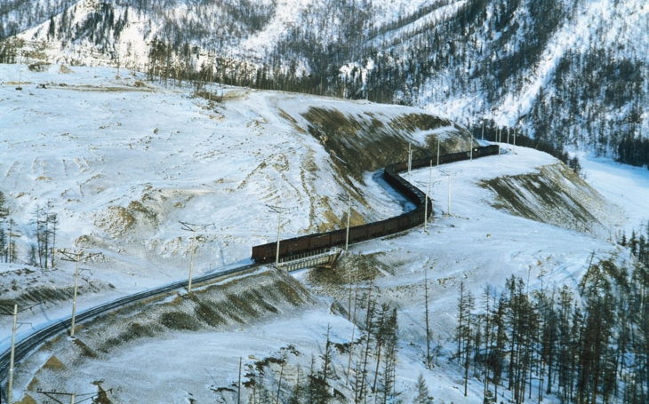 The most beautiful railroads in the world: The Trans-Siberian Railway