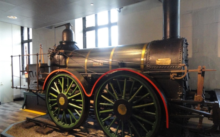 The historic railway vehicles: The Rocket