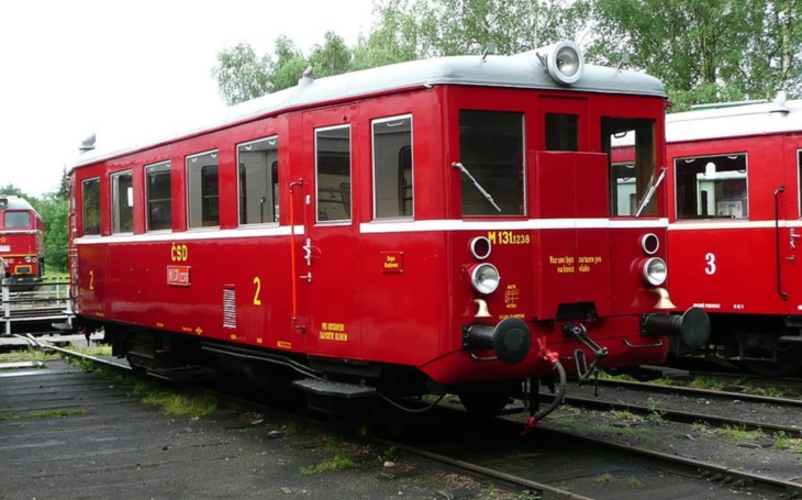 The historical railway vehicles: M 131.1, Hurvínek