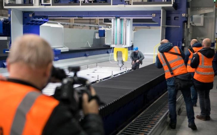 Škoda Vagonka opened the biggest and most modern machining center in Ostrava