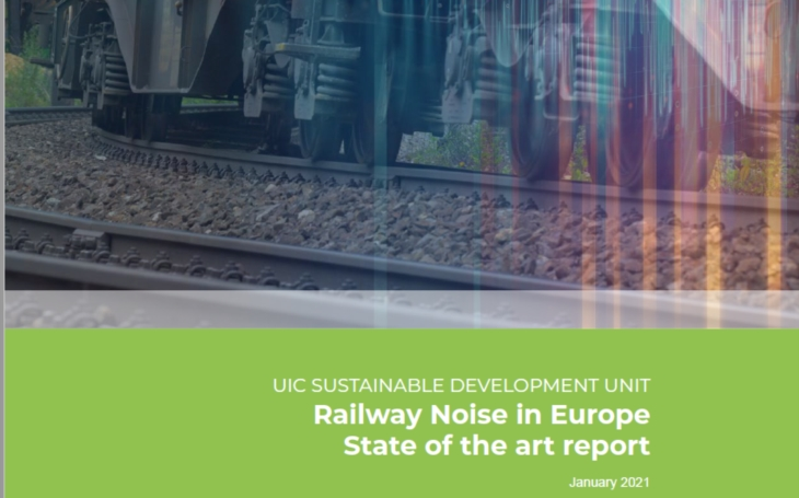Is the railway in Europe a good or noisy neighbour? UIC state of the art report may give you the answer