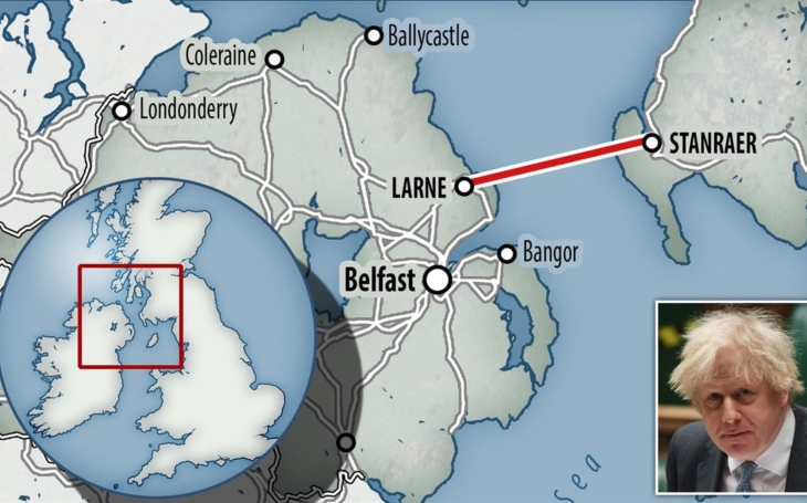 Rail & road tunnel between Scotland and Northern Ireland may soon get the green light
