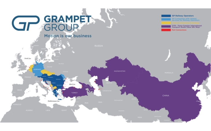 Train Hungary, a member of GRAMPET Group, launches a new branch in Ljublijana, Slovenia