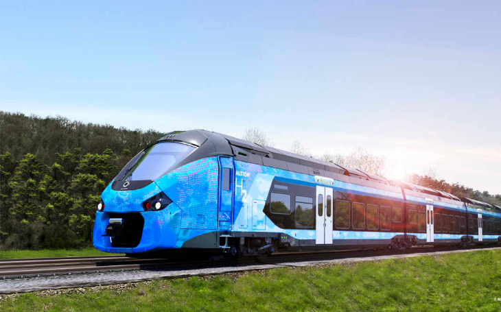 Hydrogen rail mobility in central France: The first hydrogen passenger trainsets soon on the rails
