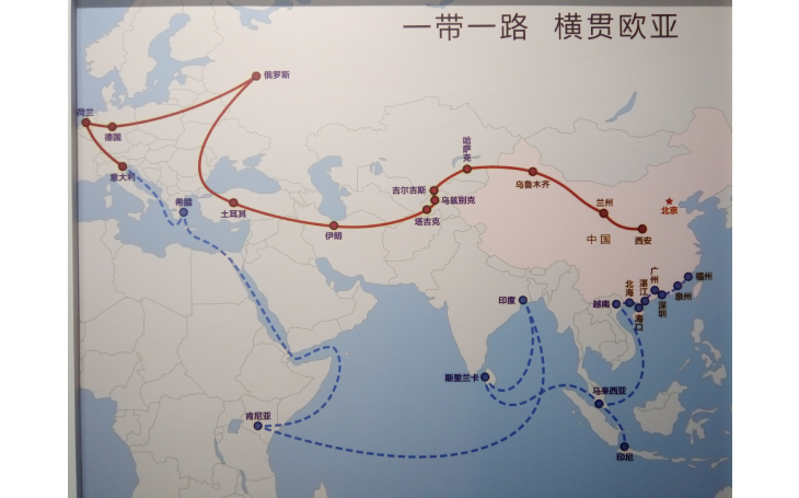 Rail transport on the rise. China is renewing a new silk road with Europe.