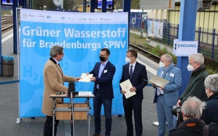 Hydrogen-powered trains for Heidekrautbahn