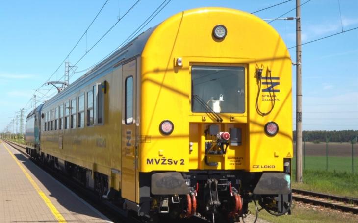 The most expensive railway car on Czech railway tracks: SŽ introduced a measuring car