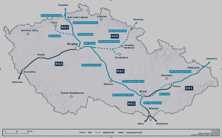 The City of Pilsen is increasing the pressure on the Czech Government to return the project of the high-speed line Prague – Pilsen – Nuremberg to the government concept, the Liberec Region does not want to be left behind either