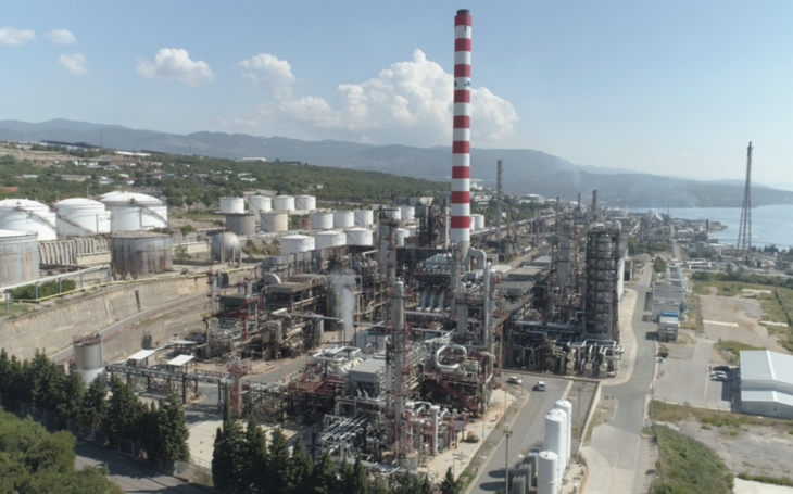 INA, d. d. a leading company in the oil & gas business in Croatia