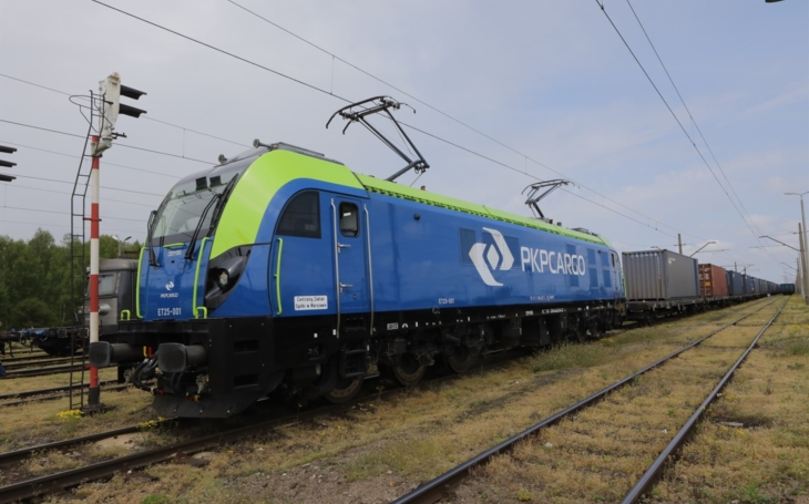 PKP CARGO CONNECT launches test operator connection from China to Gliwice.
