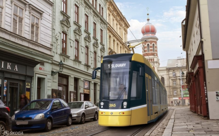 Plzeň will have its first smart tram. Connection to a 5G network will make traffic in the city smoother and safer
