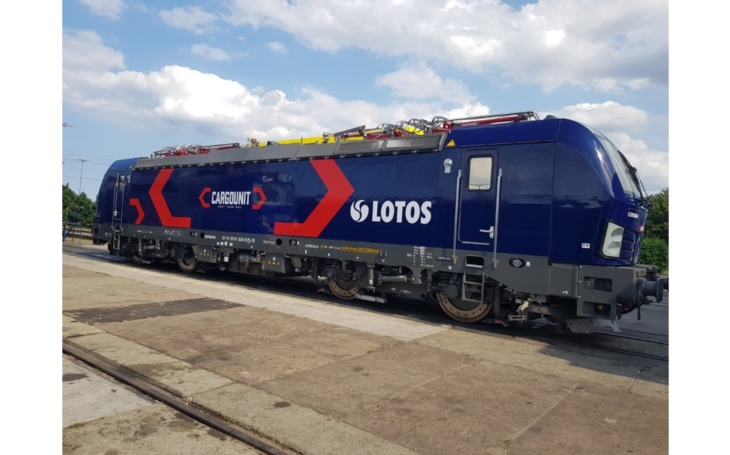 Cargounit is starting to operate a Vectron locomotives designed for Eurasian freight operator
