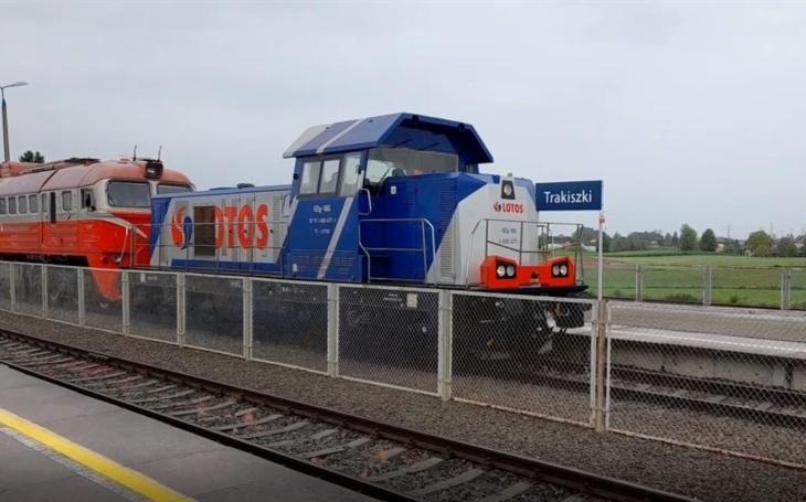 LOTOS Kolej begins transport to Lithuania