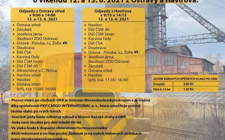 Pozvánka: PKP CARGO INTERNATIONAL a Slezský železniční spolek zvou na báňské vlaky