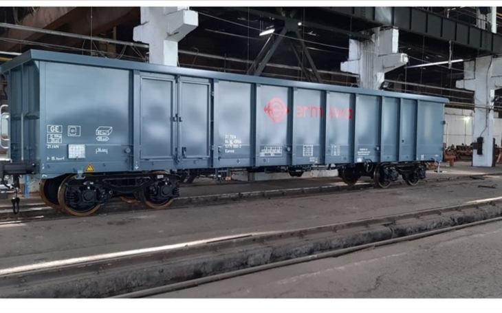 Ermewa SA has leased 35 new EANOS wagons to CARBOSPED