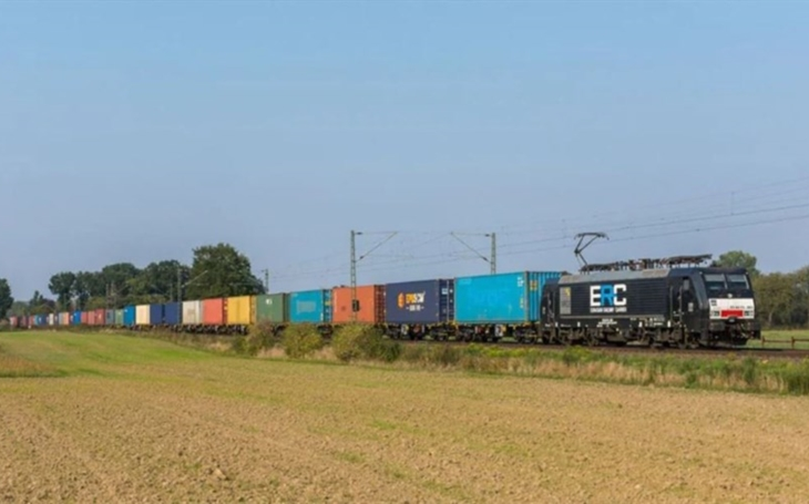 A.P. Moller - Maersk first block train from Southern West Europe to Asia