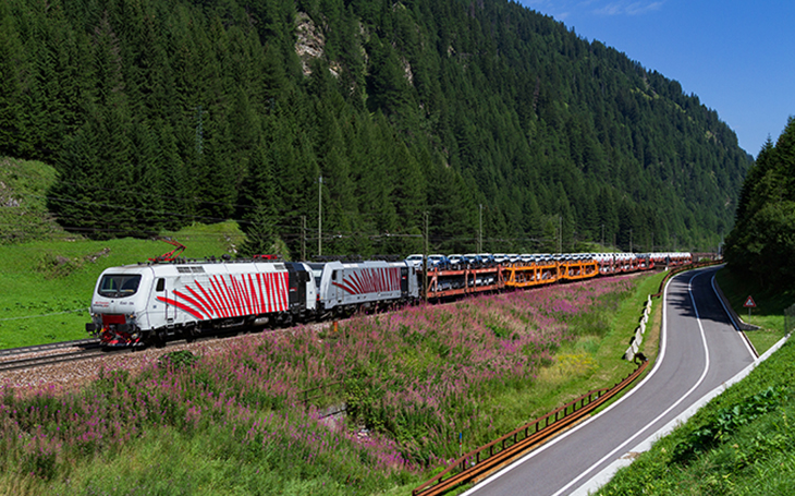 Rail Traction Company (RTC): The first private railway company to provide a freight train service on the Brennero axis
