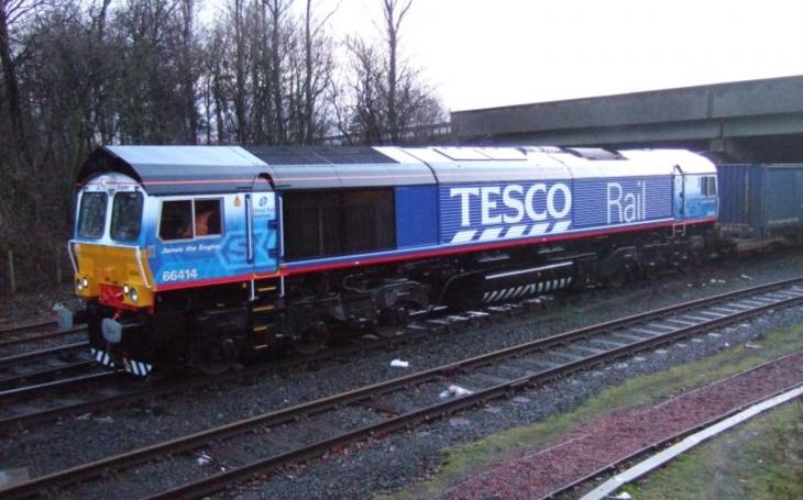 Tesco on railway infrastructure: Less trucks, more trains