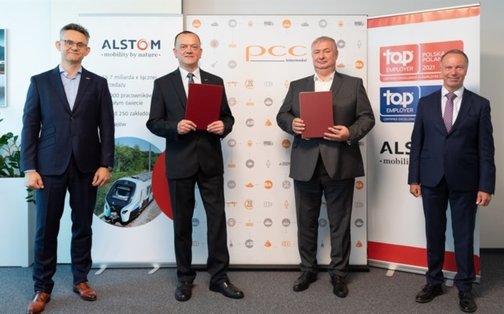 PCC Intermodal SA: The leading intermodal operator from Poland has contracted Alstom for the delivery of four electric locomotives