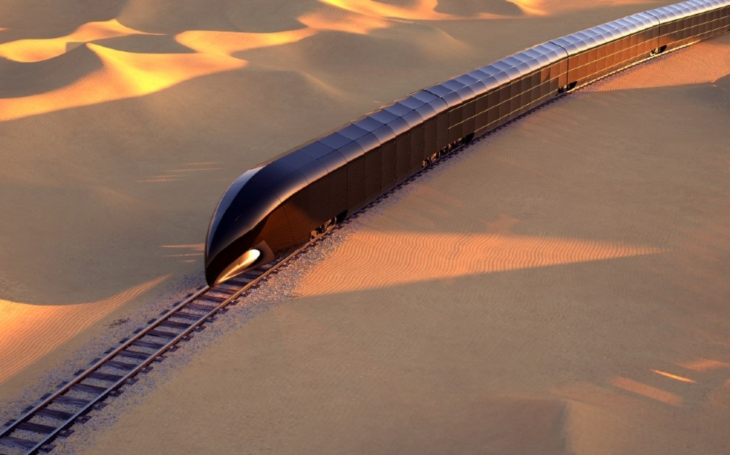 Super Yachts has a competitor - a train for $ 350 million