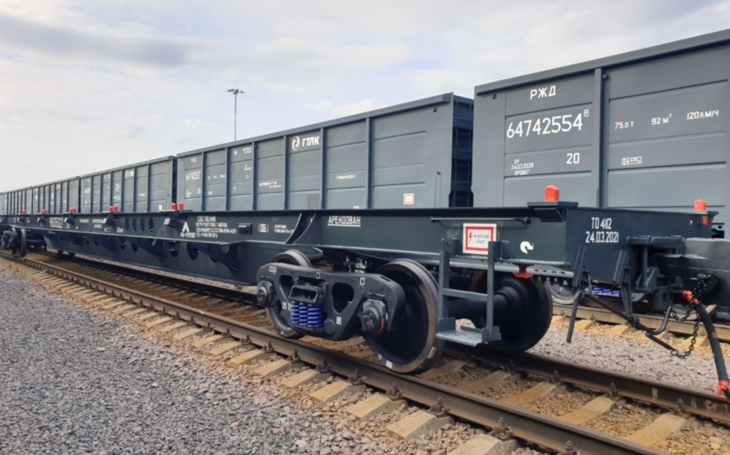 UWC to deliver 4,000 container flat cars to RB GROUP