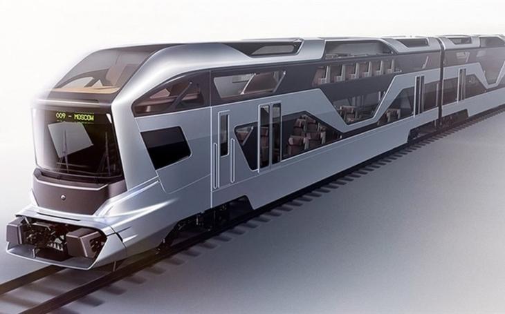 The AIRSCP Electric Train Concept won a design award