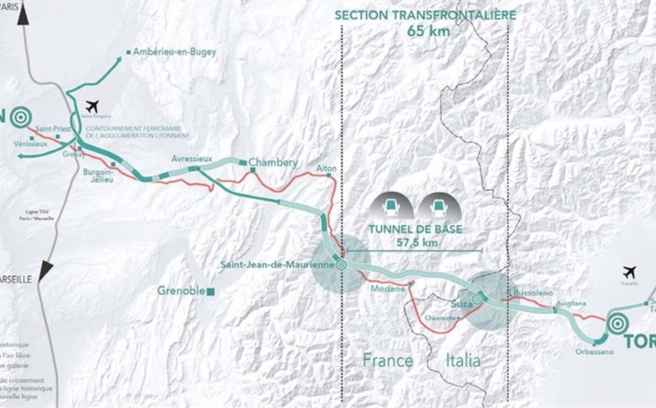 €3 billion contract for the Lyon-Turin tunnel awarded