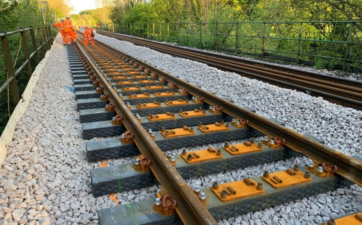 Keep up with new technologies. Plastic railway sleepers are being tested in England