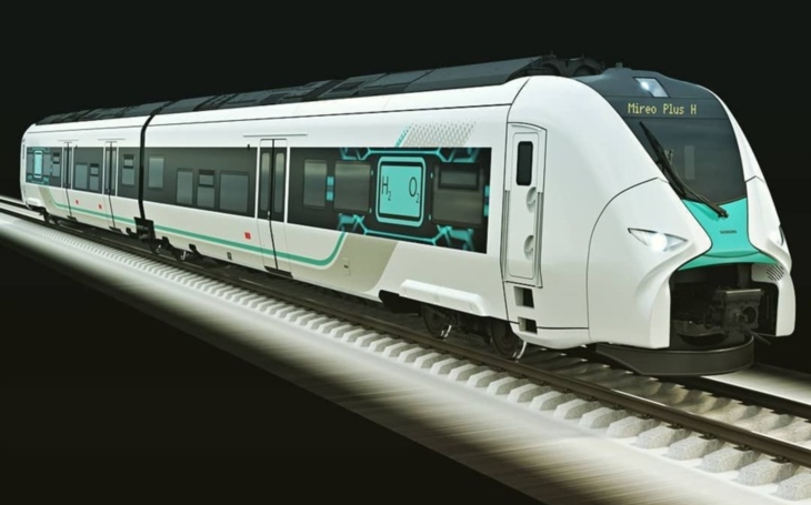 Siemens will test a hydrogen fuel train in Bavaria