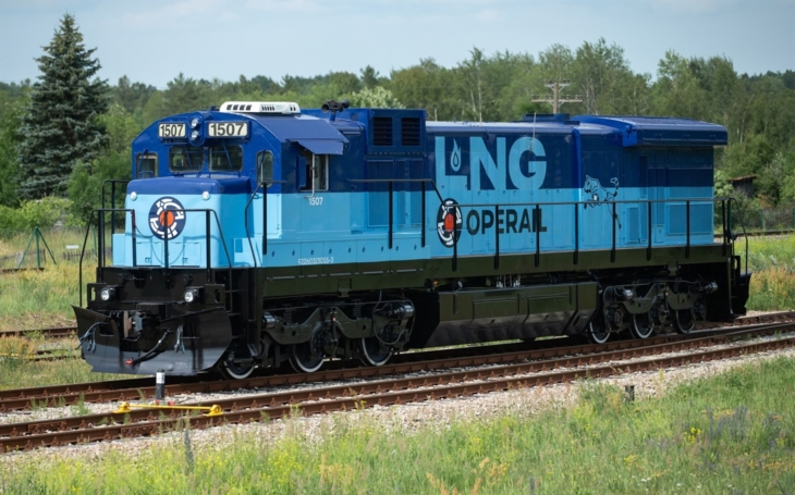 Operail's first LNG freight locomotive is ready