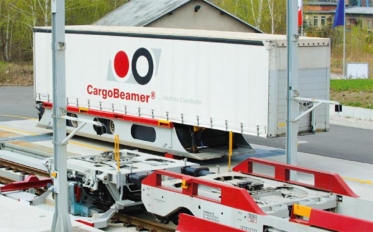 CargoBeamer opens a terminal in French Calais