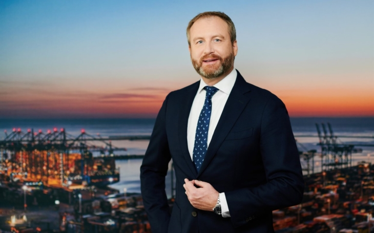 Charles Baker is a new CEO of terminal DCT Gdańsk