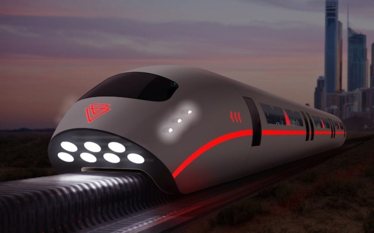 A train capable of speeds up to 600 km / h rolled off the assembly line In China