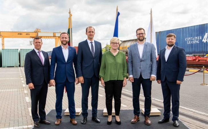 Kaunas intermodal terminal open for commercial operation on Rail Baltica