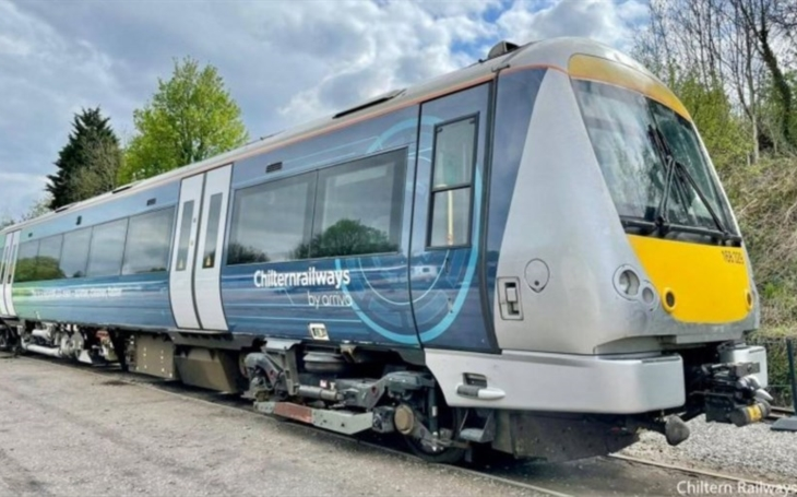 British railway operator celebrates 25th anniversary with launch HybridFLEX train