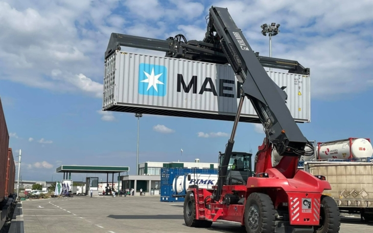 MAERSK and PIMK Rail offers an intermodal solution for a logistics link between Burgas, Varna, Plovdiv, and Sofia
