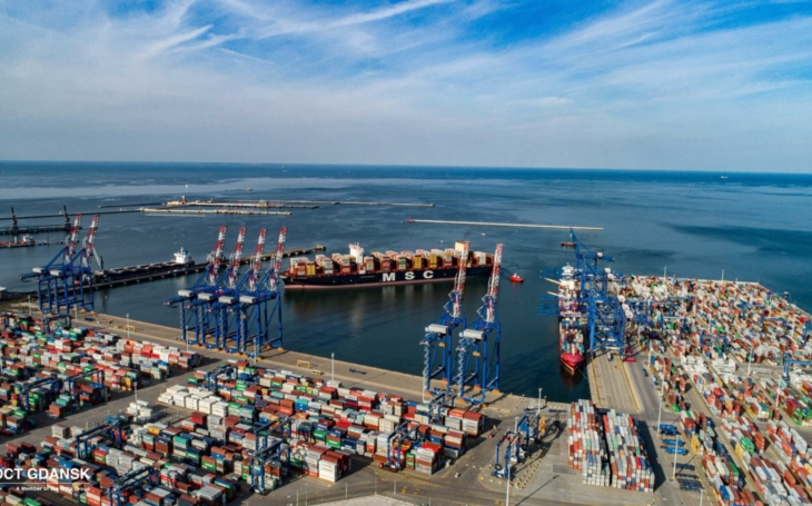 DCT Gdańsk and the Port of Gdańsk enter a new era of container handling on the Baltic Sea