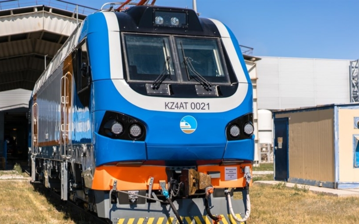 One of the most versatile electric locomotives in the world is being produced in Kazakhstan now