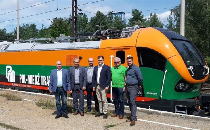 Pol-Miedź Trans received the new locomotive Gama from  Pesa