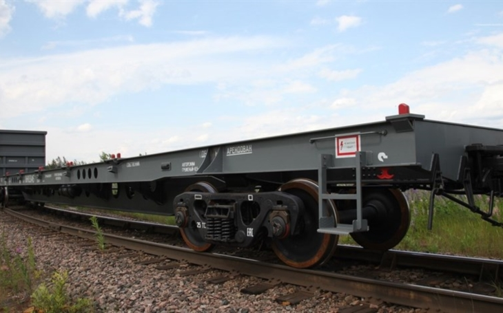 Russian United Wagon Company Certified Heavy Duty Platform