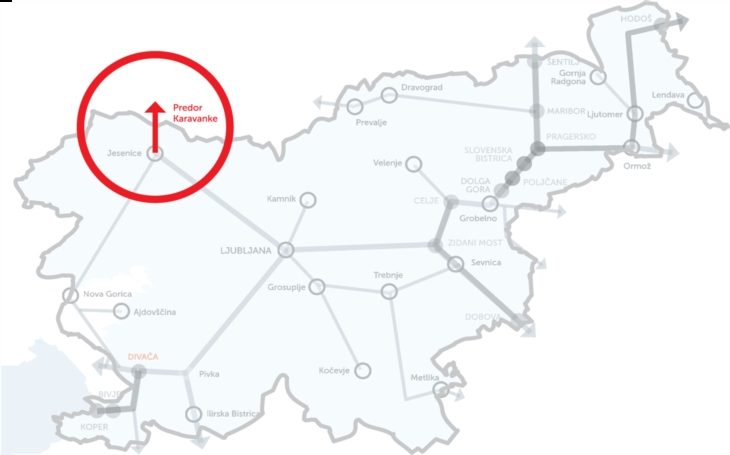 Modernization of the 8-kilometer railway tunnel between Slovenia and Austria Karavanke railway tunnel has been reopened