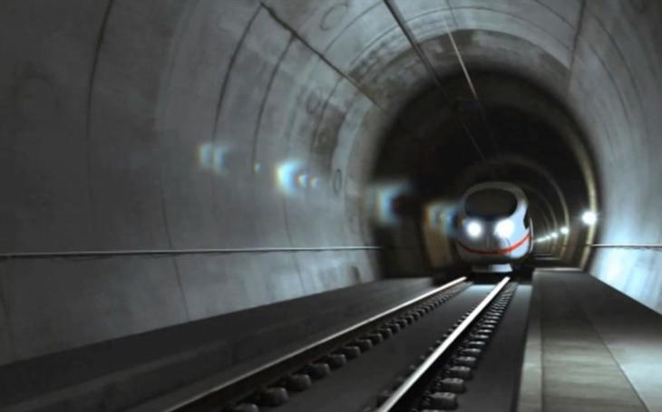 Construction of a tunnel on the Elin Pelin - Vakarel line in Bulgaria has begun