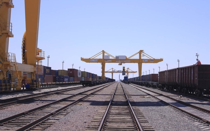 China is increasing freight traffic across the border with Kazakhstan