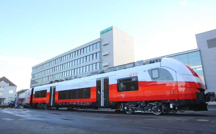 ÖBB additionally ordered 21 Desiro ML trains from Siemens