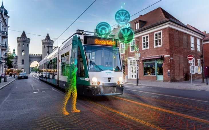 """Siemens Mobility and ViP presents """"Autonomous tram in the depot"""""""