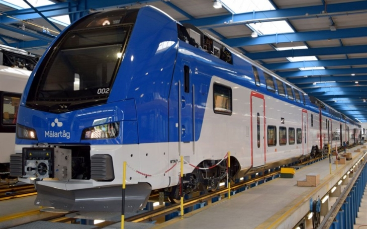 Sweden ordered seven more double-decker trains from Stadler